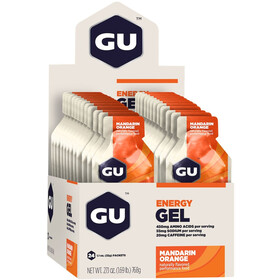 GU Energy Gel confezione 24 x 32g, Mandarin Orange